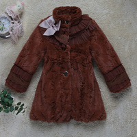 Best seller single color cute child coat in 100% woolen with good service