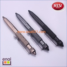 pretty utility aerial aluminium with tungsten steel head tactical ball pen with factory prices