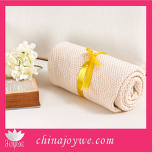 Fashion Knitted Baby Blanket Wholesale Cotton Thread Blanket For Baby