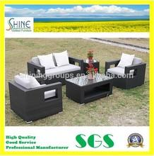 Luxury Outdoor Furniture All Weather Wicker/Rattan Patio Sofa Set C280