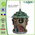 9.5 pouces. antique de résine décoration d'arbre d'oiseaux maison