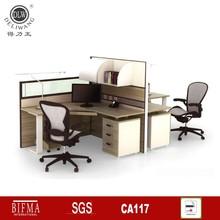 2015 white high gloss office desk in Foshan XU4P2814-2(Iron leg)#