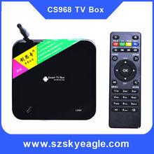 Android TV Box Quad Core CS968 Smart tv box 1080P XBMC 2G RAM 8G ROM RK3188 Receiver media player With 2MP camera