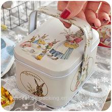 cheap /custom made tin boxes/rundNew Arrival tin can,jewelry gift box,chocolate tin box