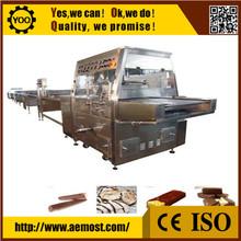 D2468 Cheap 600Mm Width Egg Roll Chocolate Coating Machine