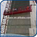 Suspendue plateforme longueur 7.5m capacités 800 kg