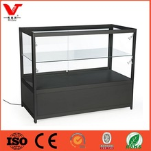 Aluminium showcase,cellphone store display fixture,glass store mobile phone display showcase