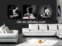 Frameless Group Nude Women Paintings Oil