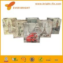 Design élégant mini kraft papier cadeau sac, Sac de papier cadeau sacs