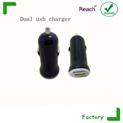2015HOT!! dual usb car charger with double usb socket