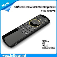 2.4G Wireless Remote Control,Keyboard and Air Mouse Combo with IR learning Function universal remote controller