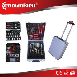 186pcs auto emergency kit/auto mechanic tools