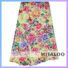 Mitaloo Multicolor New Design Oem Multi Coloured Guipure Lace MCP0053