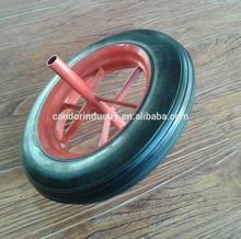 high quality solid rubber wheel for wheelbarrow