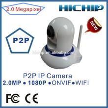 Hichip Baby Monitor Mini Wifi Camera 1080P 2MP, two way audio, 10m IR Distance