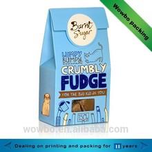 2015 cute hot sale paper sugar packaging with window