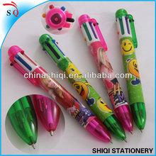 OEM design full color logo multi pen