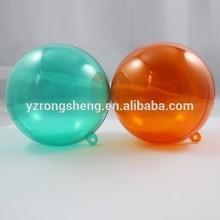 opening Transparent Plastic Ball acrylic hemisphere