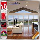 AS2047 standard waterproof double glazing large glass aluminium sliding door
