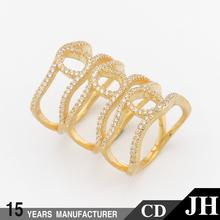 JH Original Design 3 Carat Diamond Solitaire Ring