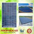 25 años de garantía de un grado de bajo costo de arco panel solar para el vehículo eléctrico de techo solar