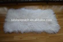 Fashion Tibetan Curly Plush Tibet Lambskin Rug Toscana sheepskin Fur Rug