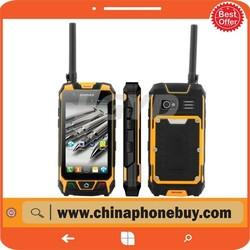 S9 Rugged Waterproof phone,ip67 walkie talkie rugged phone, Dual Core 4.5 inch Corning Gorilla Glass Capacitive Screen phone