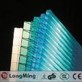 china precio venta caliente fabricación de techo de policarbonato y las especificaciones