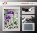 Jis4-3a, 32mm ширина, a1 a2 a3 формат а4, круглый и прямой угол, пластиковые доски, пвх листа, алюминий рамка литье