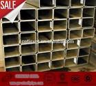 Steel rectangular tube/pipe make in china/steel rectangular tubes made in china