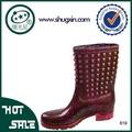 Schuhe frauen gummi regen boot b-819