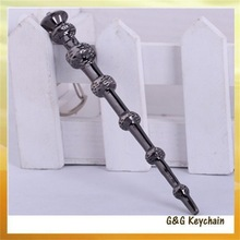 Manufacturers Selling Film The Harry Potter 6 Section Bone Magic Wand Key chain Wholesale YM5330