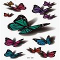 Body art maquiagem custom nova tatuagem de borboleta design, etiqueta do tatuagem sexy, braço banda tatuagem