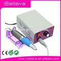 Profissional elétrica lixa de unhas de acrílico Pedicure faça máquina de areia Kit banda Set electical unha arquivamento