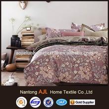 2015 Cotton rich bed linen set made in Nantong