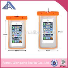 2015 Hot Sale Wholesale Eco-friendly Waterproof Cell Phone Bag