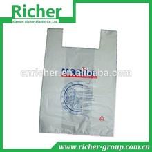 vest carrier bags t-shirt thank you plastic bag