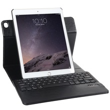 2in1 Rotating Leather Case with Detachable Wireless Bluetooth Keyboard for iPad Air 2