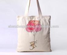 Printed cotton bag/custom printed canvas cotton bag/Organic Cotton Diaper Bags