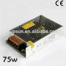 high quality S-75 75w led light driver ac to dc switch mode power supply source SMPS 220v to 5v 15a 12v 15v 24v transformer