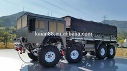 JKA 2015 Hot selling! Full Metal Rc 8X8 WD Military Truck
