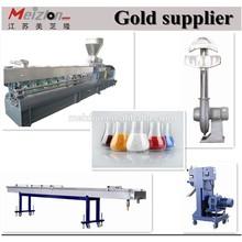 PVC pipe extruder production line/plastic grinding granulator machine/plastic granule raw material machine production line