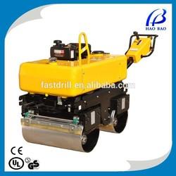 YL34 13HP gasoline double drum vibration roller asphalt/soil road roller