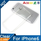 (Acego) 0.3mm 2015 transparent soft tpu silicone mobile phone accessory for iphone 6 cover