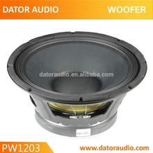 10 Inch/12 Inch/15 Inch Sub Woofer Speaker, PA Speaker Woofer