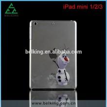 Clear Plastic Case For iPad mini, for iPad mini Hard Case, Cartoon Case for iPad mini