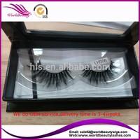 Horse Hair Eyelash,customed packaging horse fur hair lashes