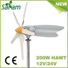200W high efficiency low cost small wind turbine