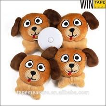 2015 New Design dog shape unique special measuring tape promotional gift