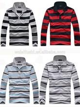 design men polo stripe t-shirt